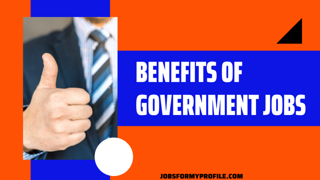 Benefits Of State Government Jobs