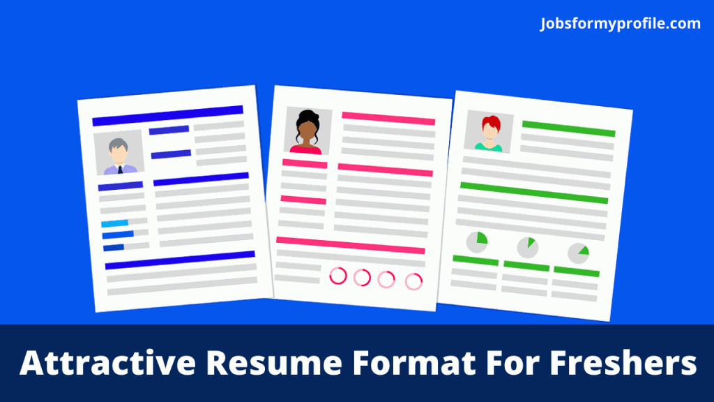 Attractive Resume Format For Freshers